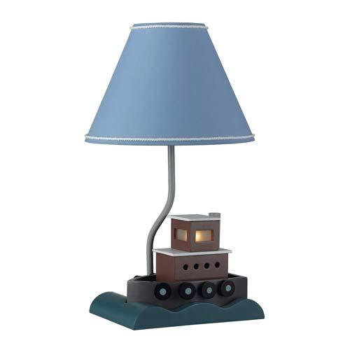 Fish Boat Children's Lamp