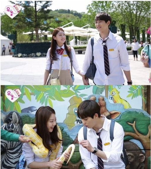 'We Got Married' Couple Gong Seung Yeon and Lee Jong Hyun Go on a Zoo Date | Koogle TV