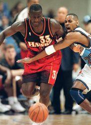Tyrone Corbin 1994 95 1996 1999 Atlanta HawksNbaBasket