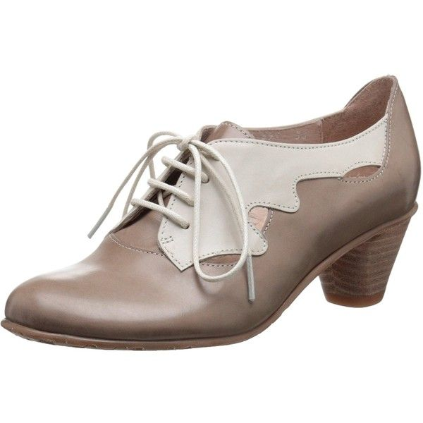 Fidji Women's V599 Oxford (1.169.950 IDR) ❤ liked on Polyvore featuring shoes, oxfords, 2 tone shoes, two tone oxfords, fidji, two tone shoes and fidji shoes