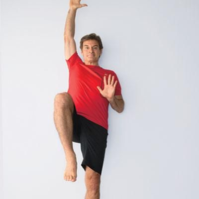Dr Oz's morning workout