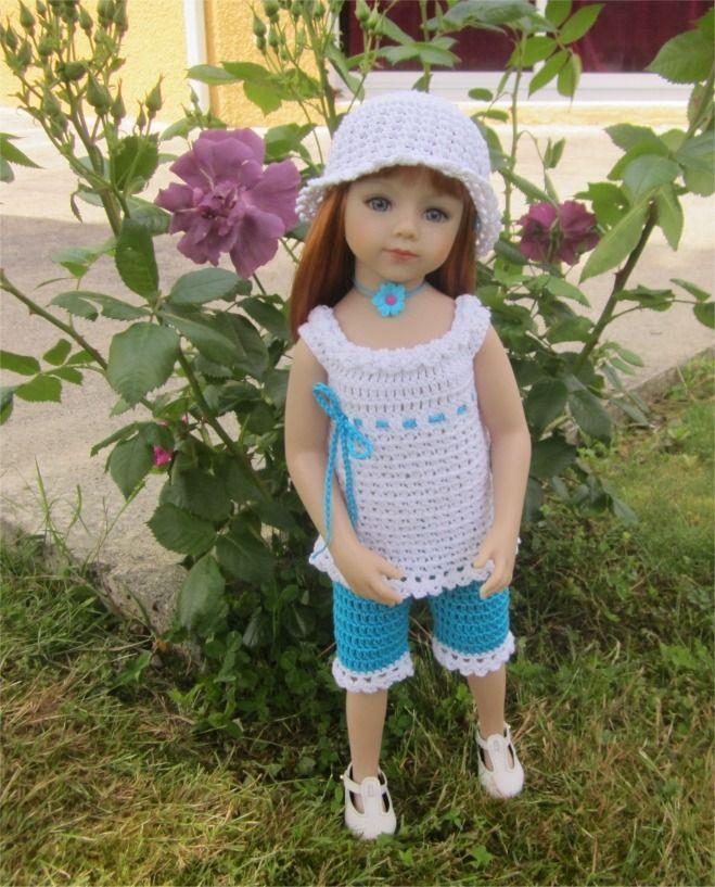 29- FICHE PATRON Savannah pour poupée Maru and Friends de 52 cm : Jeux, jouets par atelier-crochet