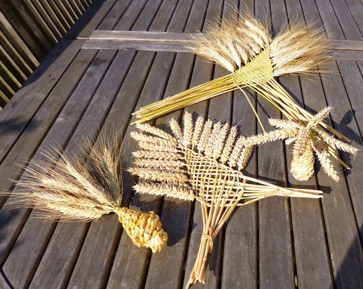 tressage épis de blé                                                       … …