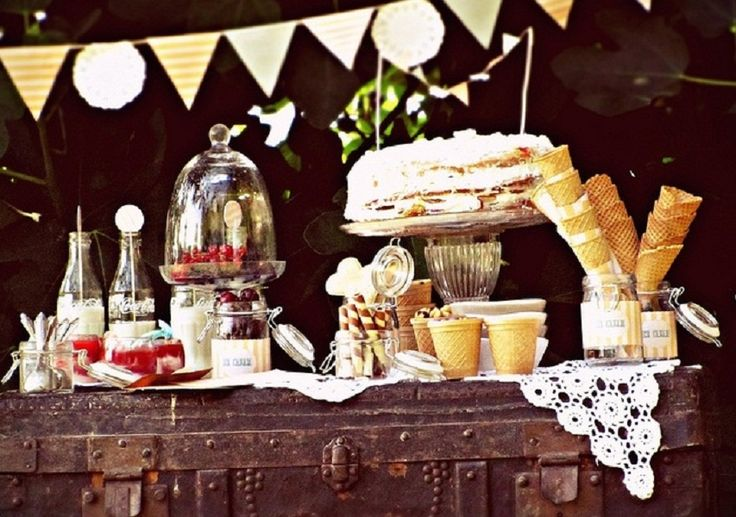 ice cream party ideas from The Sweetest Occasion