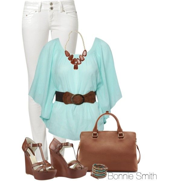 """Casual spring"" by bonnaroosky on Polyvore"