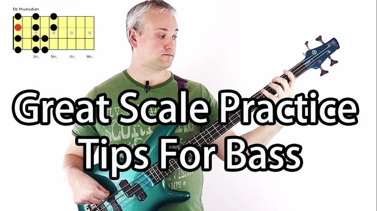 Great Scale Practice Tips For Bass Guitar (Study Book Of Scales) (L#25)