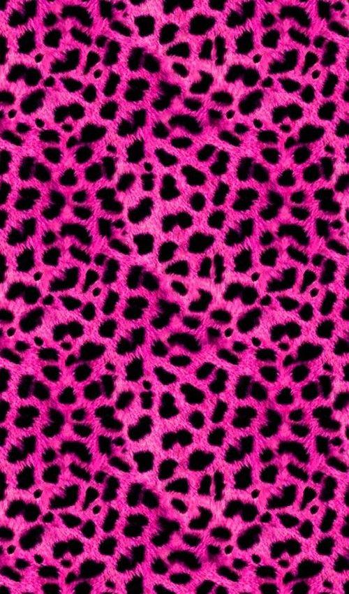 Pink Wallpaper 337 Pink Leopardo Rosa Sfondo Glitter Rosa E