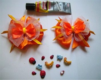 Satin Ribbon Bow ~ ?