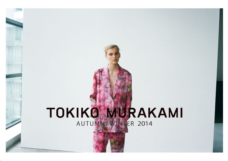 「TOKIKO MURAKAMI 2014 AW」Art Direction by Haruna Sakai / Photographed by Bungo Tsuchiya@Tron / Styling by Demi Demu@Avgvst / Hair by NORI / Makeup by KEN@3rd / Model by Mari@Wizard / Production by Taka Arakawa @Babylon