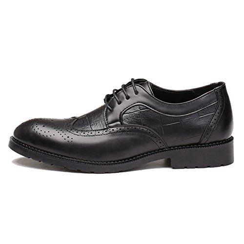 Herren Brogue Schuhe Modische Spitze Zehen Mikrofaser