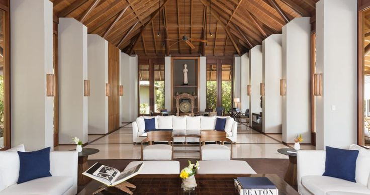 Image result for aman shanghai lobby Resort Pinterest - iniala luxus villa am strand a cero