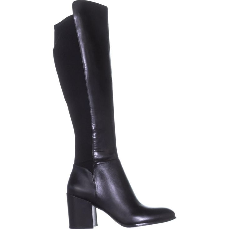 Marc Fisher Lacole Turlock Knee High Boots, Black Multi