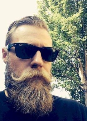 Cool and gentle full beard styles 14