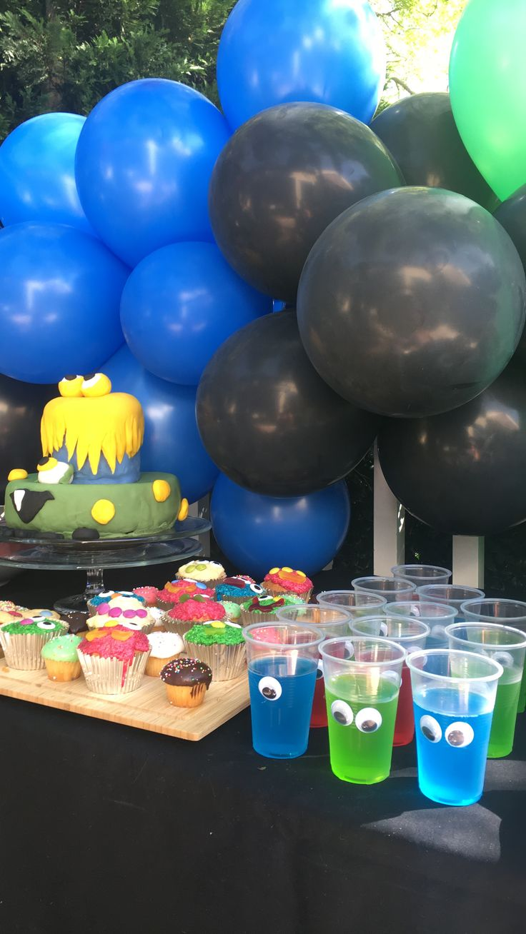 Monster jelly cups