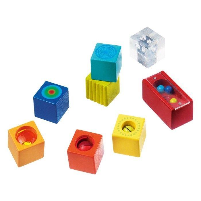 Haba - Sensory Wooden Discovery Blocks 2