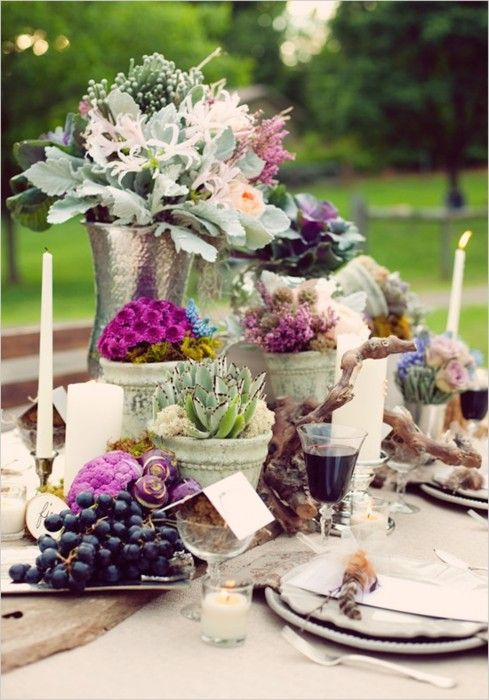 98 best table settings images on pinterest table for Tavole apparecchiate moderne