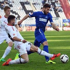 German Bundesliga Second Tier -  Karlsruher SC vs FC Würzburger