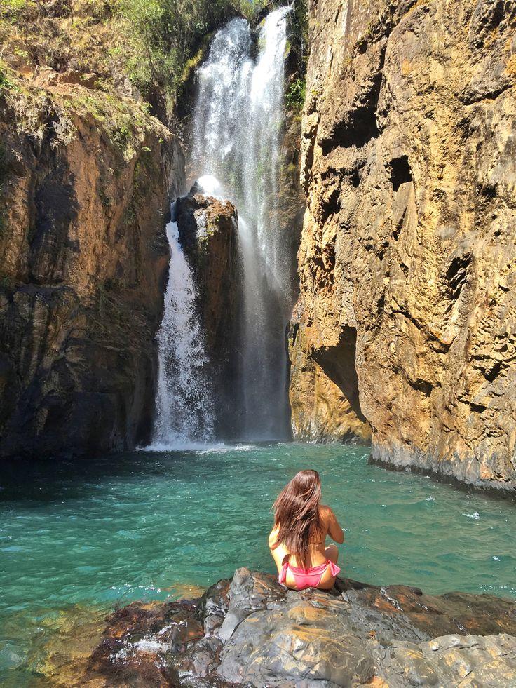 Cachoeira do Encontro, Chapada dos Veadeiros - Goiás