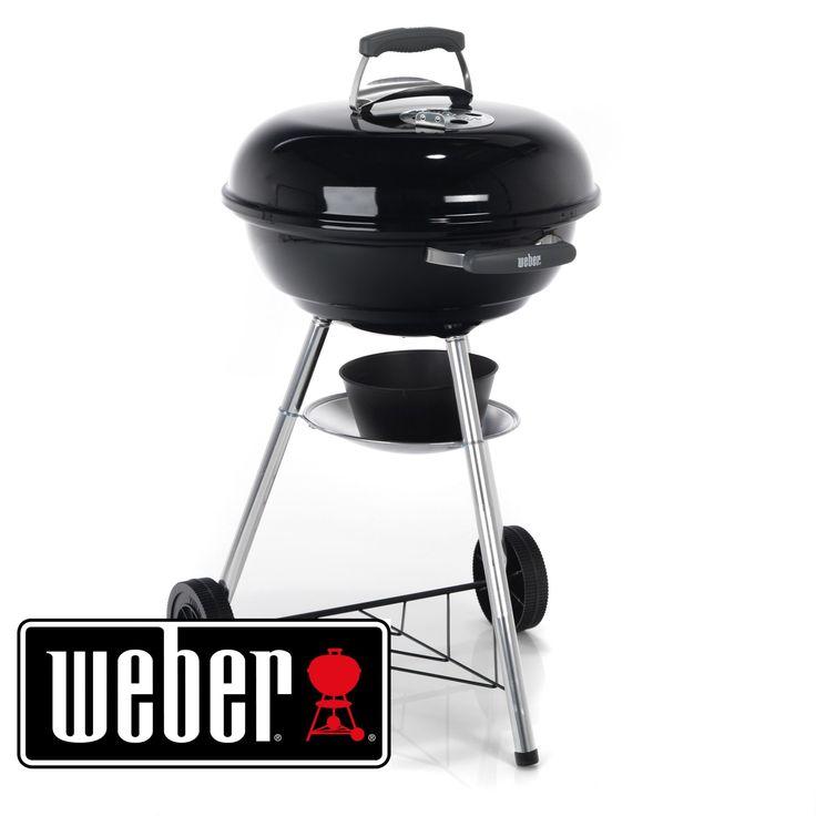Barbecue à charbon Weber 47cm Noir Intense - Weber Compact Kettle - Les barbecues - Meubles de jardin - Tous les meubles - Décoration d'intérieur - Alinéa