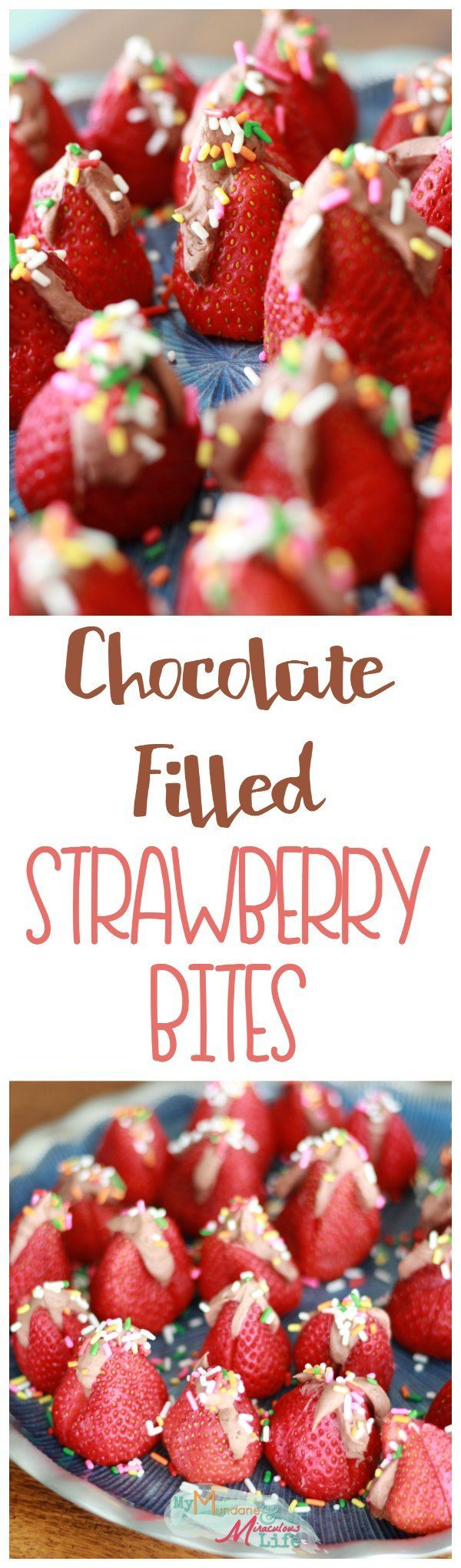 The simplest, most delicious chocolate strawberry dessert. Even your toddler can help you make this quick dessert perfect for parties! It's no bake so it won't heat your house either.