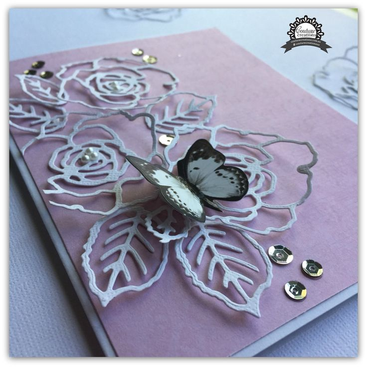 Artdeco Creations Brands: Magnolia Card by Tracey Rohweder