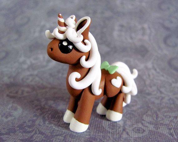 Mini Gingerbread Unicorn 2 by DragonsAndBeasties on Etsy