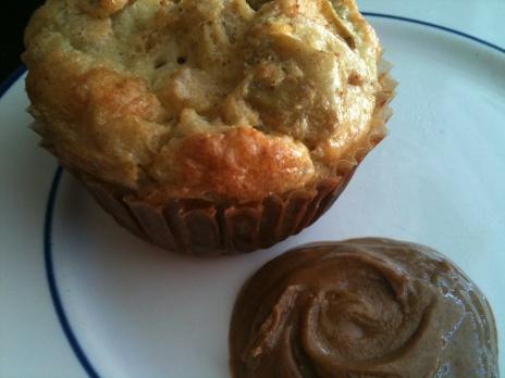 Mini Apple Bread Puddings