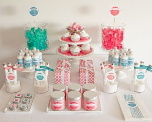 R�aliser un candy bar, une sweet table ou un joli buffet
