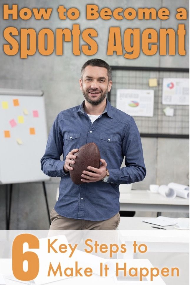 Dream Of Becoming A Sports Agent Here S What To Do Sports How To Become Sport Management