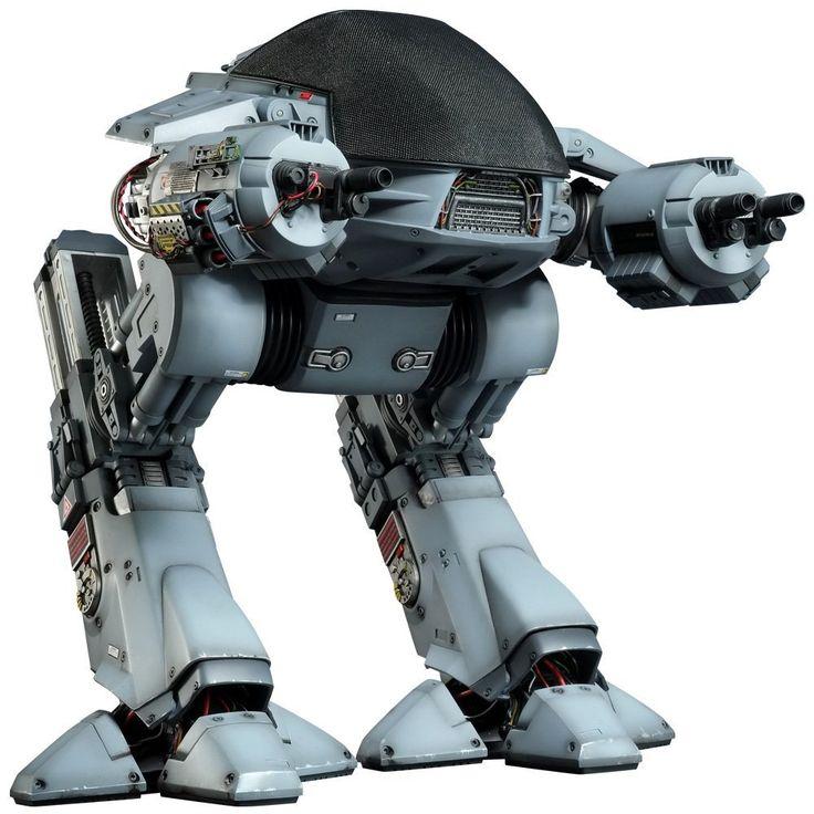 "Movie Masterpiece ""Robocop"" 1/6 Scale Figure Ed-209 (Talking Version)"