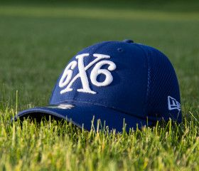 6x6 Lacrosse Designer @neweracaps lacrosse hat (Royal)
