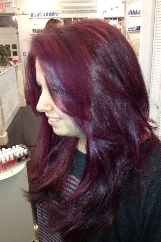 Best 25 Raspberry Hair Color Ideas On Pinterest
