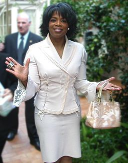 Oprah Winfrey.  I so admire her ambition, business savvy, and astonishing success. This is a self-made woman, a billionaire, and proof that there's no such thing as an obstacle if you want something bad enough. I don't agree with her political leanings, but that doesn't hinder my sense of admiration for such a successful life.: African American, Oprahwinfrey, Oprah Winfrey, Style, Celebrities, Women, People, Actresses