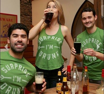 "Buy Me Brunch ""Irish Surprise I'm Drunk"" (colorway exclusive to the Official Chive Store, The Chivery) @Amy Lyons Strickland Me Brunch #StPatricksDay #Green"