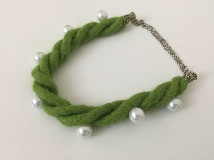 Wool jewelry