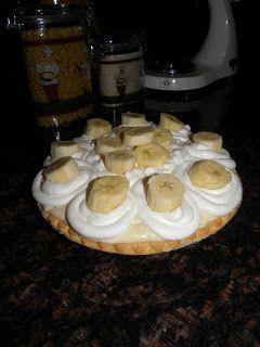 """The Kitchen Boss's """"Banana-cream pie""""."""