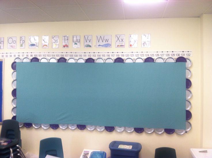 Classroom Border Ideas : Bulletin board paper plate border classroom stuff