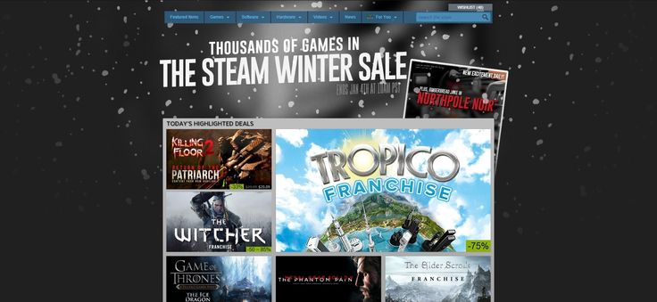 Steam Winter Sale Has Begun! - http://wp.me/p67gP6-4iC