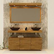 Muebles de bañoen madera de teca---product-1226