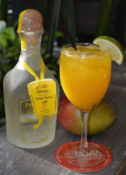 Patron Mango Margarita