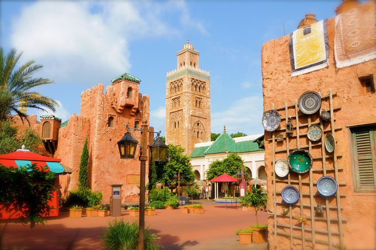 I had been to Morocco PRIOR to visiting the Moroccan exhibit at Epcot. Wow! Amazing duplication - an artist's realistic imitation of the real thing... not to be taken lightly.