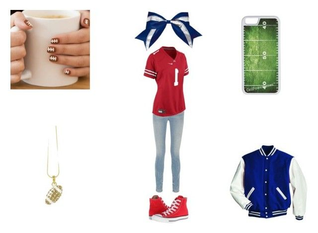 """""""School Football Final game 2015"""" by queen-kay on Polyvore featuring Alexander Wang, Converse, NIKE, CellPowerCases and Chassè"""