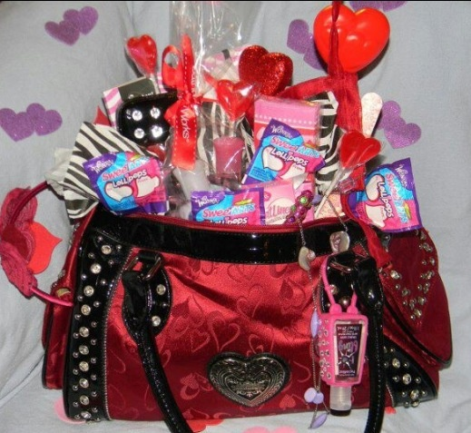 valentines day gift basket purse for my daughter - Valentine Gift For Daughter
