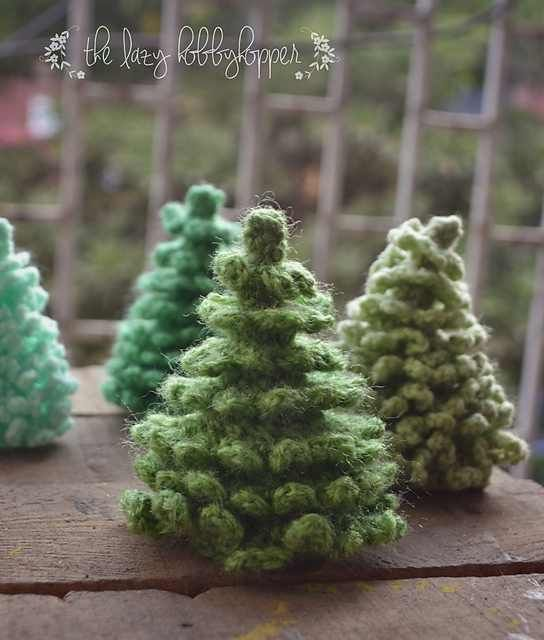 [Free Pattern] Unbelievably Cute Crochet Christmas Tree - Knit And Crochet Daily