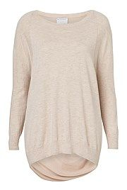 Sheer Back Twist Knit - from Witchery
