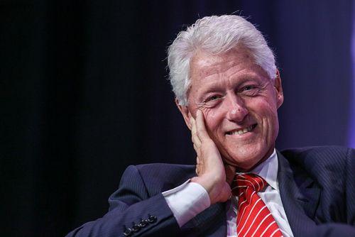 Ex-President Bill Clinton