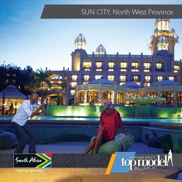 Sun City in North West, South Africa, presents the charm of a small town and the glamour of big cities. You can go into the wild on a safari and come back to the luxurious complex with a mall and beautiful hotels. Totally worth bringing your loved ones over! #MeetSouthAfrica here: southafrica.net