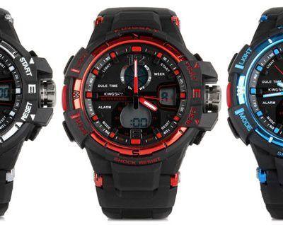Oferta: Reloj deportivo militar de cuarzo por 8 euros