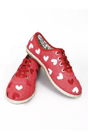Lovely Custom Shoes - Red