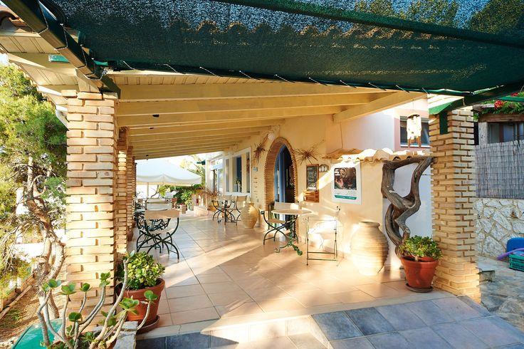 Villas Cavo Marathia Zakynthos - reception area